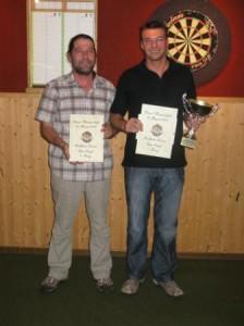 Finalisten Markus und Claude-Alain