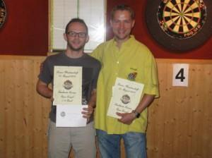 Viertelfinalisten Christoph und Reto